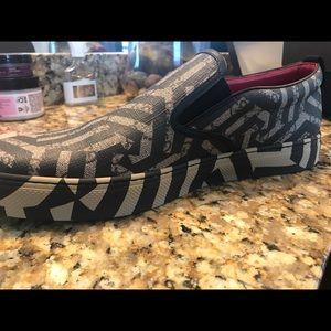 Gucci Dublin GG caleido Canvas slip on sneakers